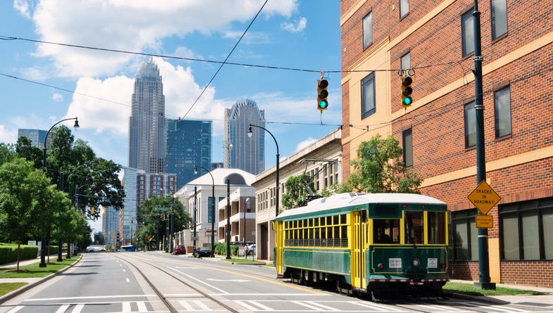 Charlotte Trolley, North Carolina
