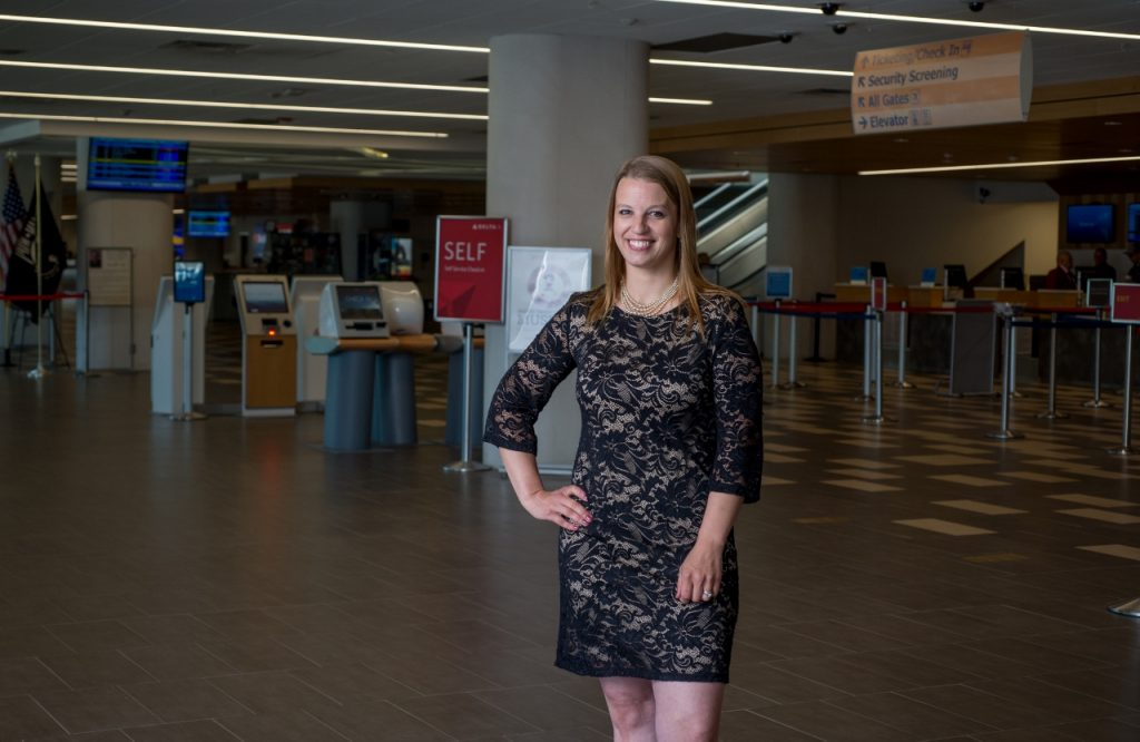 photo of marketing and business development manager Aimee Thibodeau