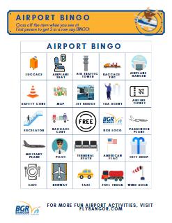 airport bingo graphic for kidsZone